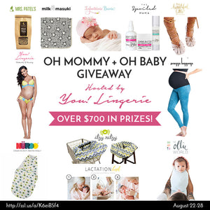 OH MOMMY + OH BABY GIVEAWAY (August)