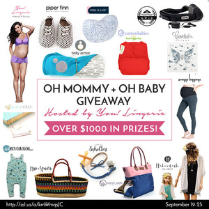 OH MOMMY + OH BABY GIVEAWAY (September)
