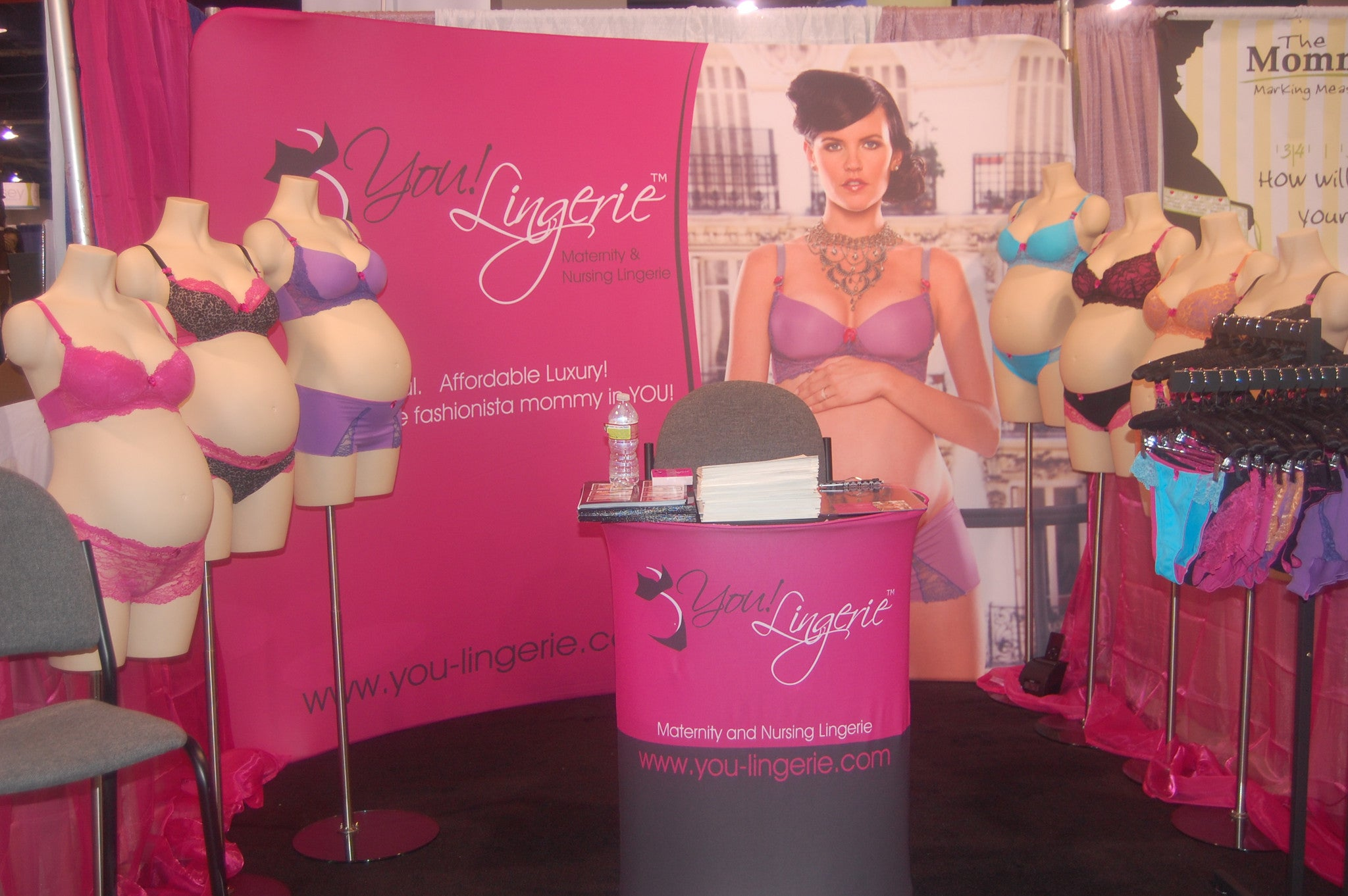 You! Lingerie Booth at ABC Kids Expo 2010