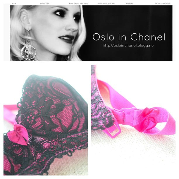 Oslo in Chanel features You! Lingerie Bras