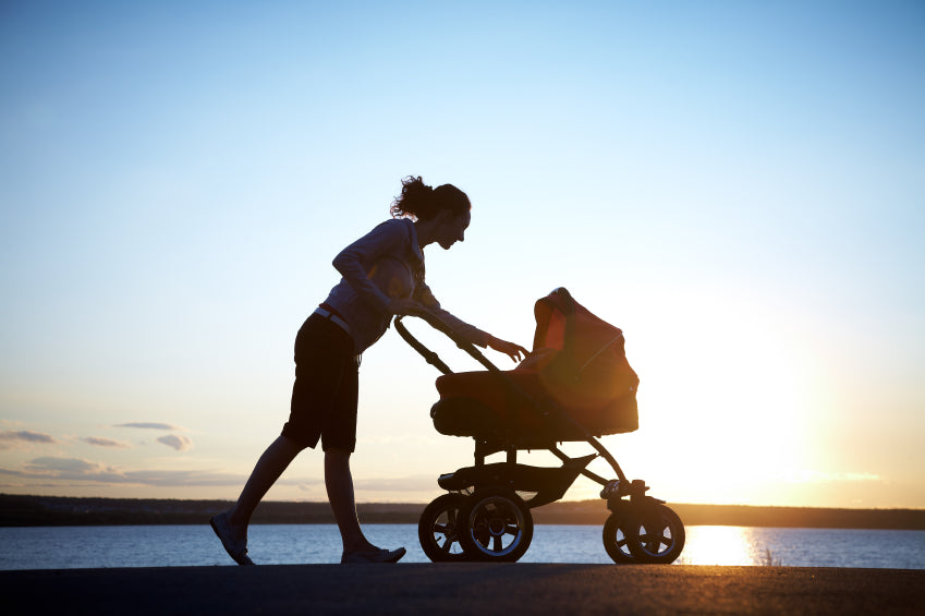 Jogging with a stroller