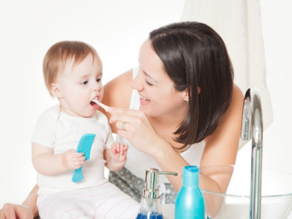 Taking care of Baby gums and teeth