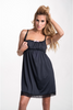Alice Black Maternity and Nursing Nightgown Chemise
