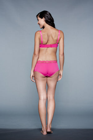 Back Shot of Ella Rose Pink Maternity & Nursing Bra