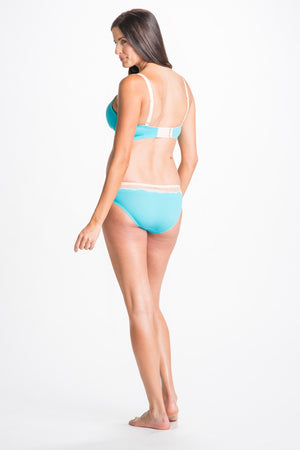 Back Shot of Penny Blue Maternity & Nursing Bra