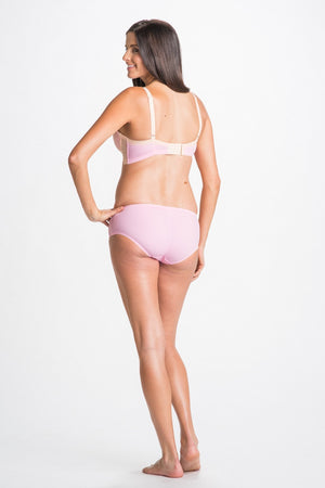 Back Shot of Violet Pink Maternity & Nursing Bra