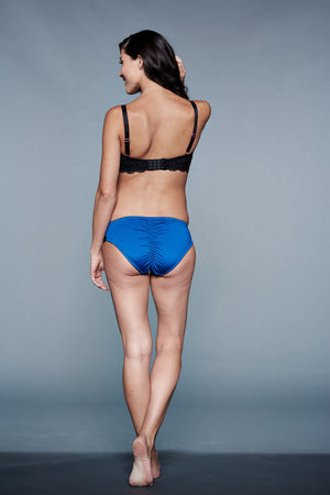 Back Shot of Amelia Blue Maternity Panty