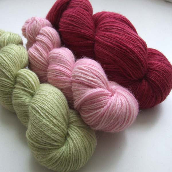 Sherbet Pips - yarn bundle for Southwold in the Snow pattern