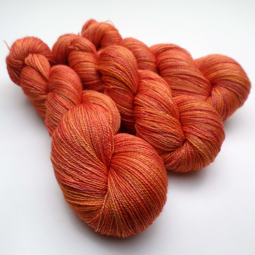 Lustrous BFL Heavy Lace - Snapdragon