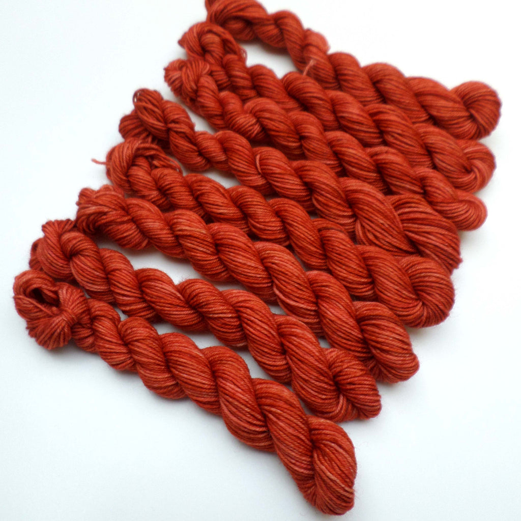 Mini Skein - Squash - Fox