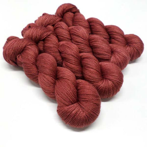 Lustrous BFL Heavy Lace - Devilish