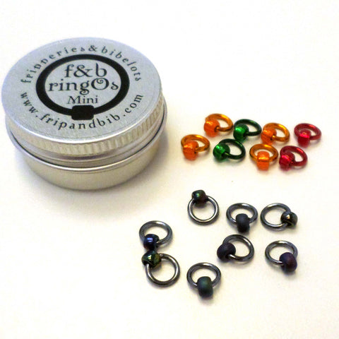 Oil Slick ringO Mini Stitch Markers