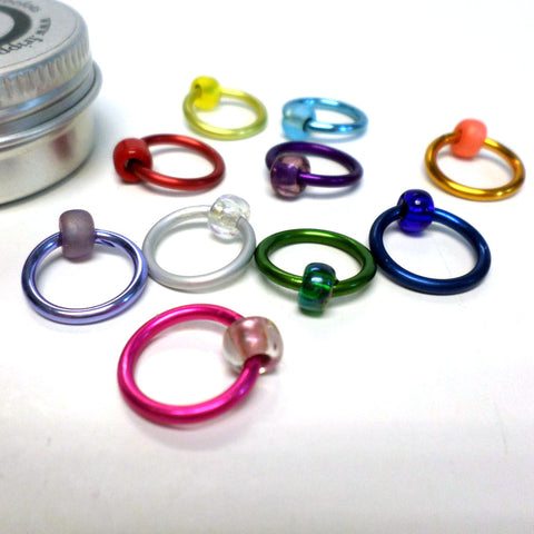 Spectrum XL ringO Stitch Markers