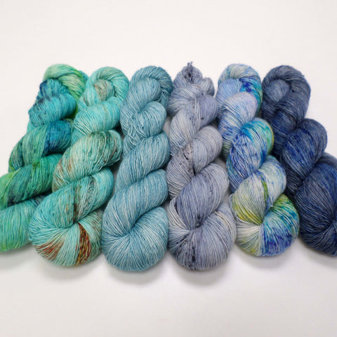 Beachy Head - yarn bundle for Fade patterns
