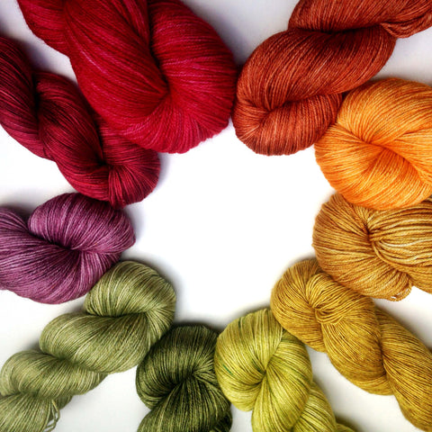 Cornucopia yarn bundle