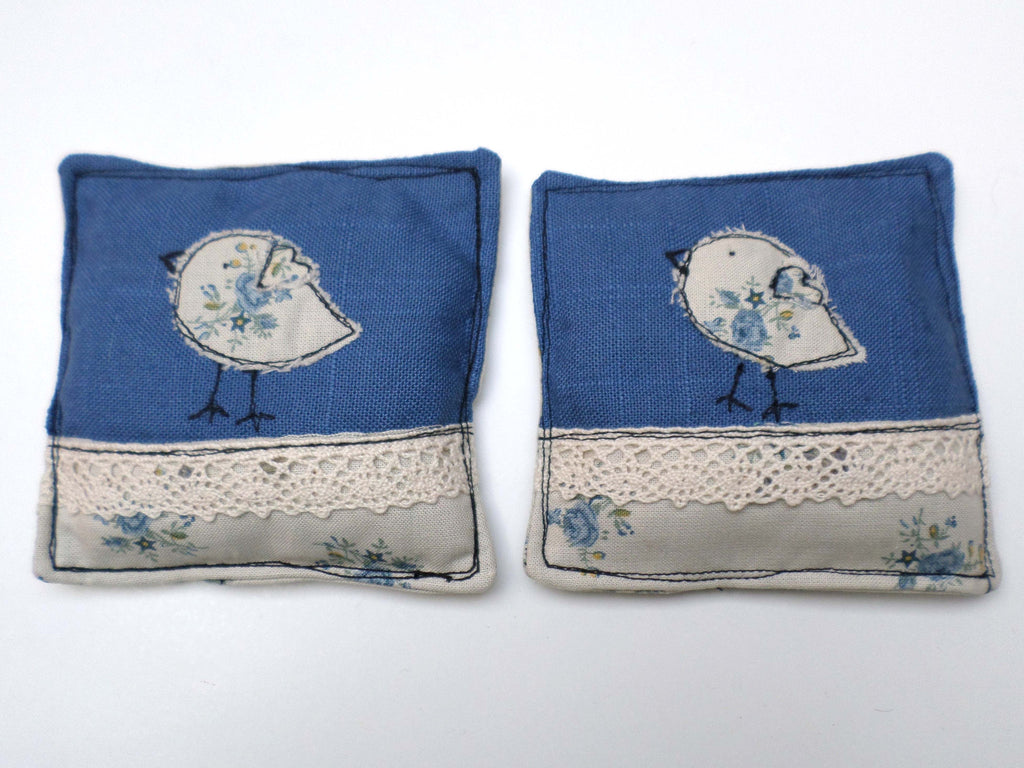 French bluebirds lavender sachets