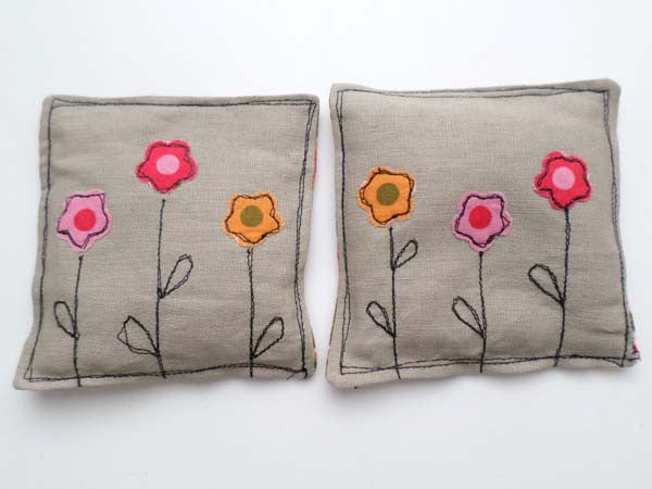 Hot Flowers lavender sachets
