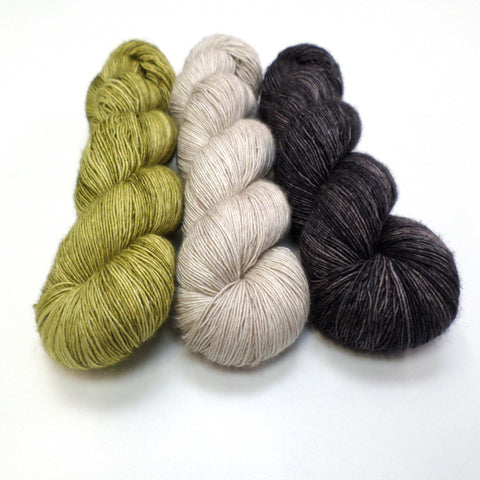 Electra Shawl yarn bundle