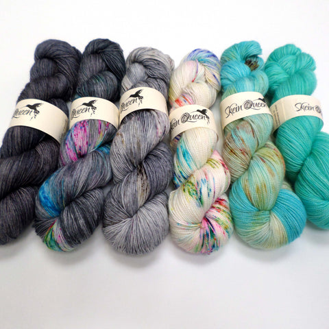 All the Pops - yarn bundle for Fade patterns