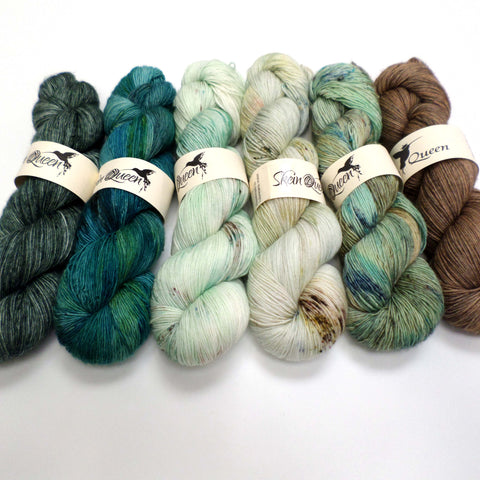 Glacial - yarn bundle for Fade patterns