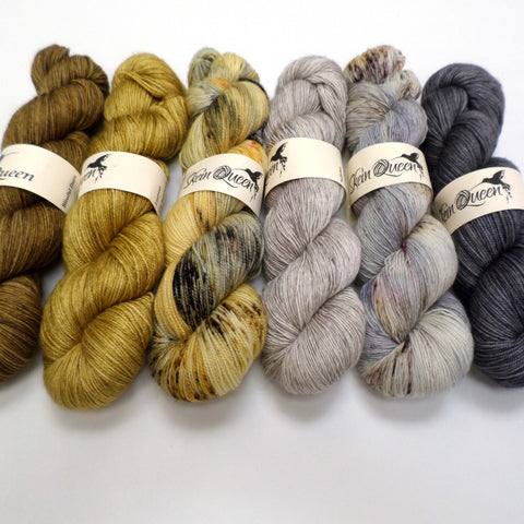 Grellow - yarn bundle for Fade patterns