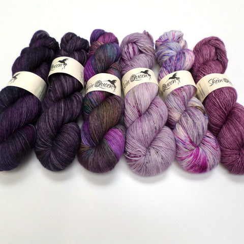 Maeve's Mauve - yarn bundle for Fade patterns