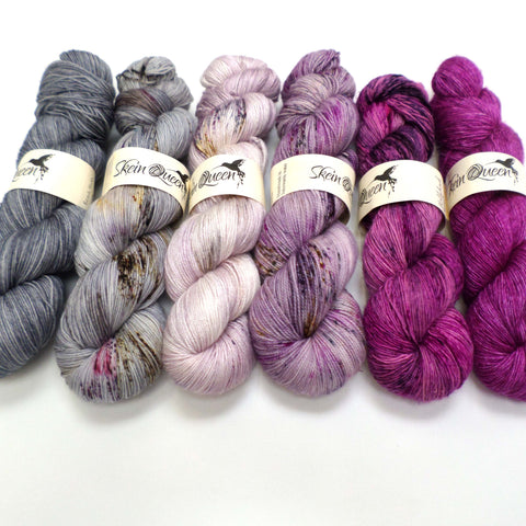 Orchid Storm - yarn bundle for Fade patterns