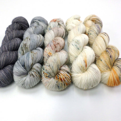 Foxprints - yarn bundle for Fade patterns