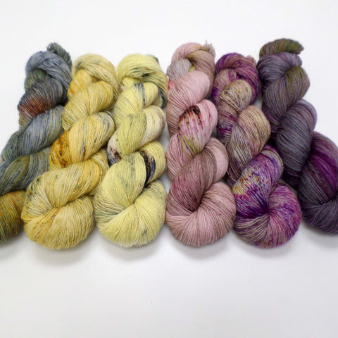 Heather Bees - yarn bundle for Fade patterns