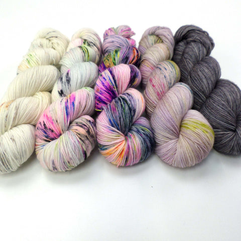 Luminous Lupins - yarn bundle for Fade patterns