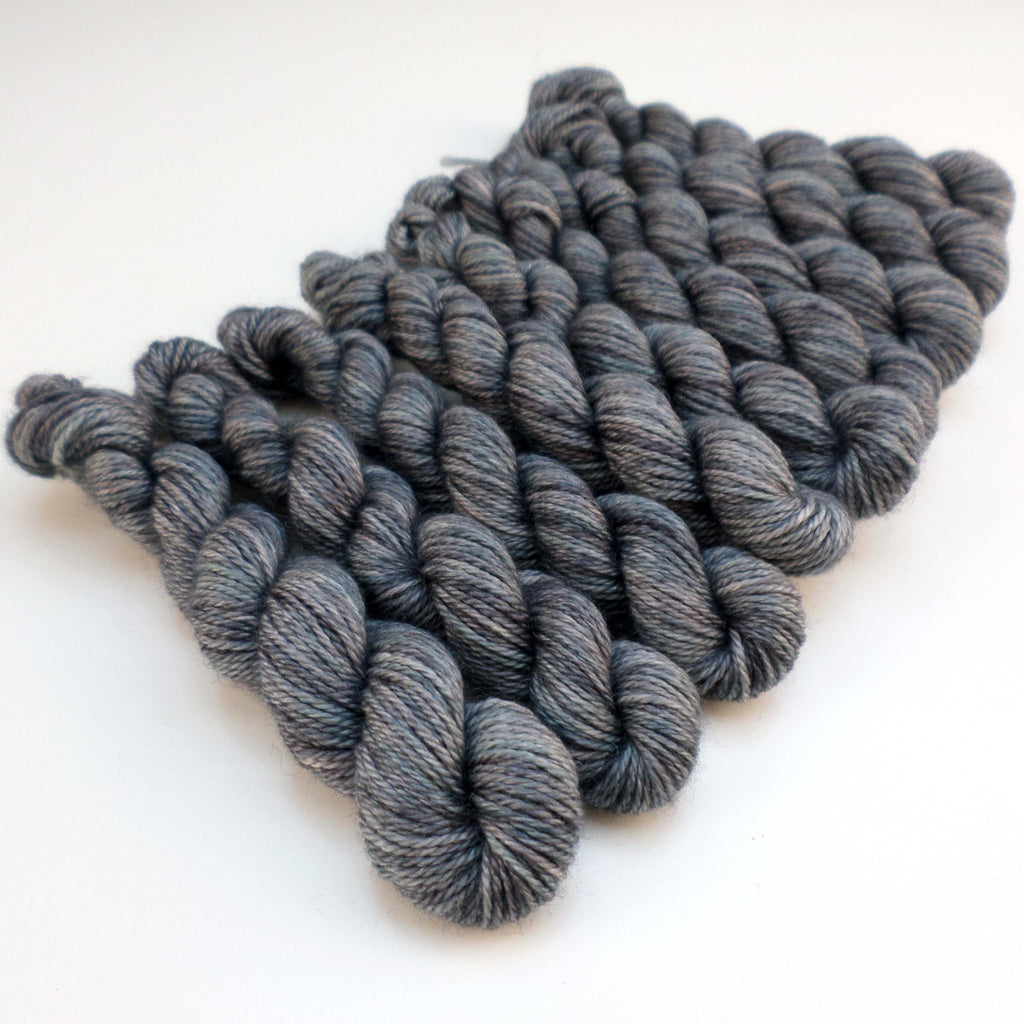 Mini Skein - Flockly - Blue Granite