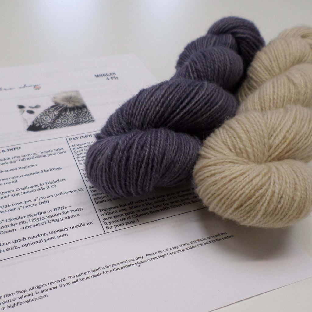 85964453fcb Uist Wool - Morgan Hat kit - Carinish    Limited Edition    – Skein ...