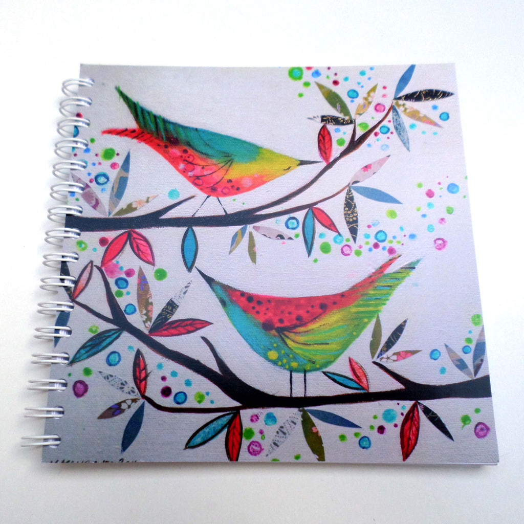 Nikki Monaghan notebook - Two Birds