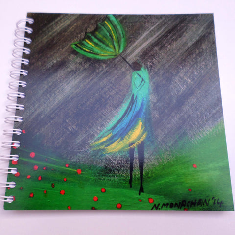 Nikki Monaghan notebook - Windy Green