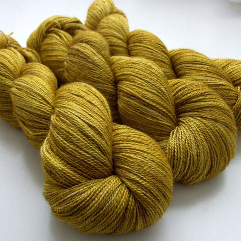 Lustrous BFL Heavy Lace - Olivio