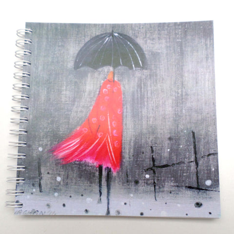 Nikki Monaghan notebook - Polka Dot Lady