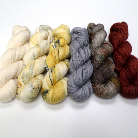 Shadows and Tall Trees - yarn bundle for Fade patterns