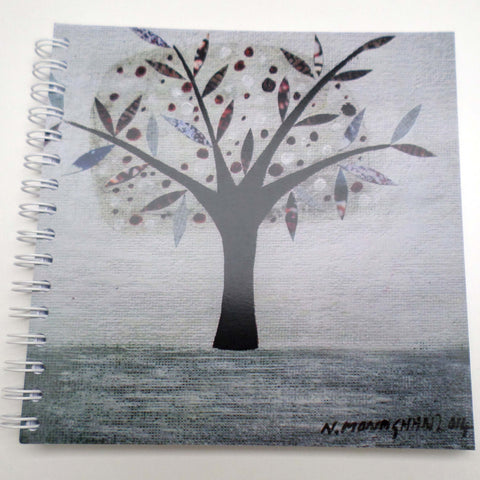 Nikki Monaghan notebook - Silver Tree