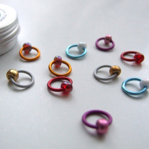 Curioser and Curioser ringO Stitch Markers