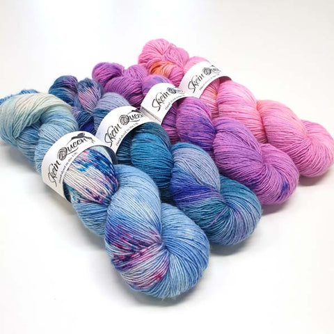 Wriggle Fade Bundle Blue to Pink