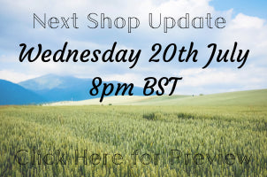 Next Shop Update Wednesday 20th January 8pm
