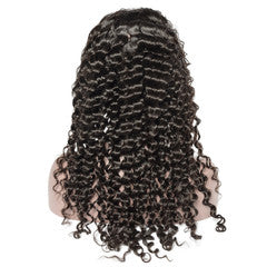 DEEP WAVE FRONTAL LACE WIG