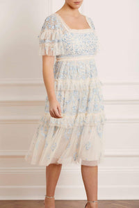 Arwen Midaxi Dress - Blue