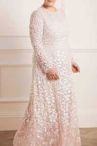 Aurelia Long Sleeve Gown