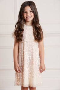 Aurora Kids Dress - Beige