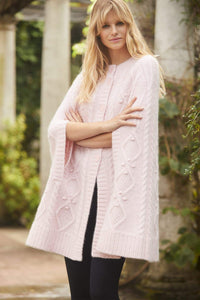Sylvie Cable Cape - One Size