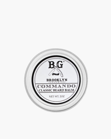 Commando Beard Balm von Brooklyn Grooming Frontansicht