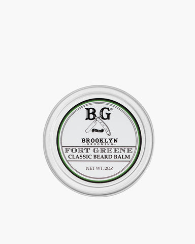 Fort Greene Beard Balm von Brooklyn Grooming Frontansicht