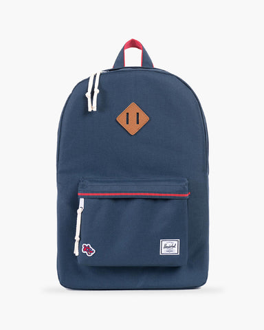 Heritage Rucksack Hounds Home Navy/Red