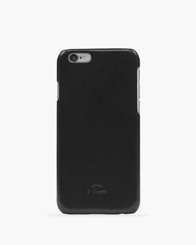 iPhone 6 Leder Cover Schwarz